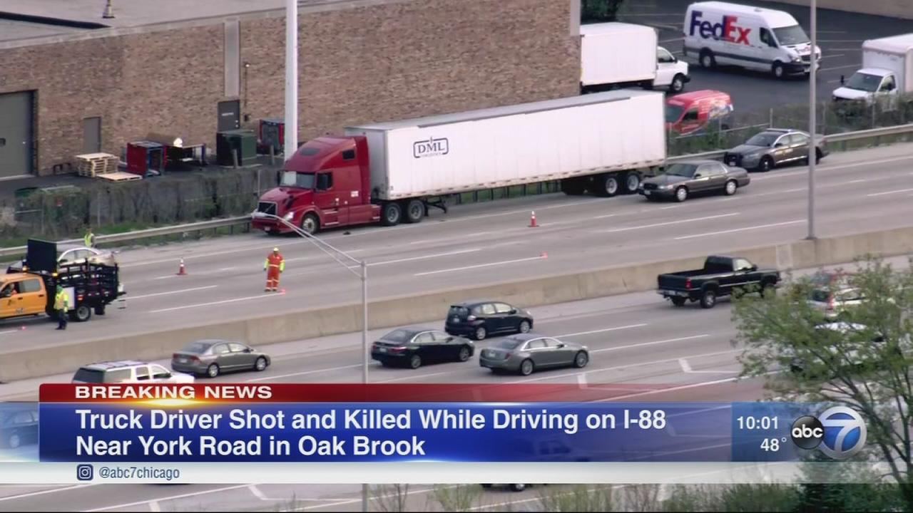 Man killed in I-88 shooting