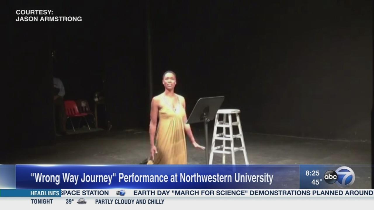 Survivor shares story in one woman show