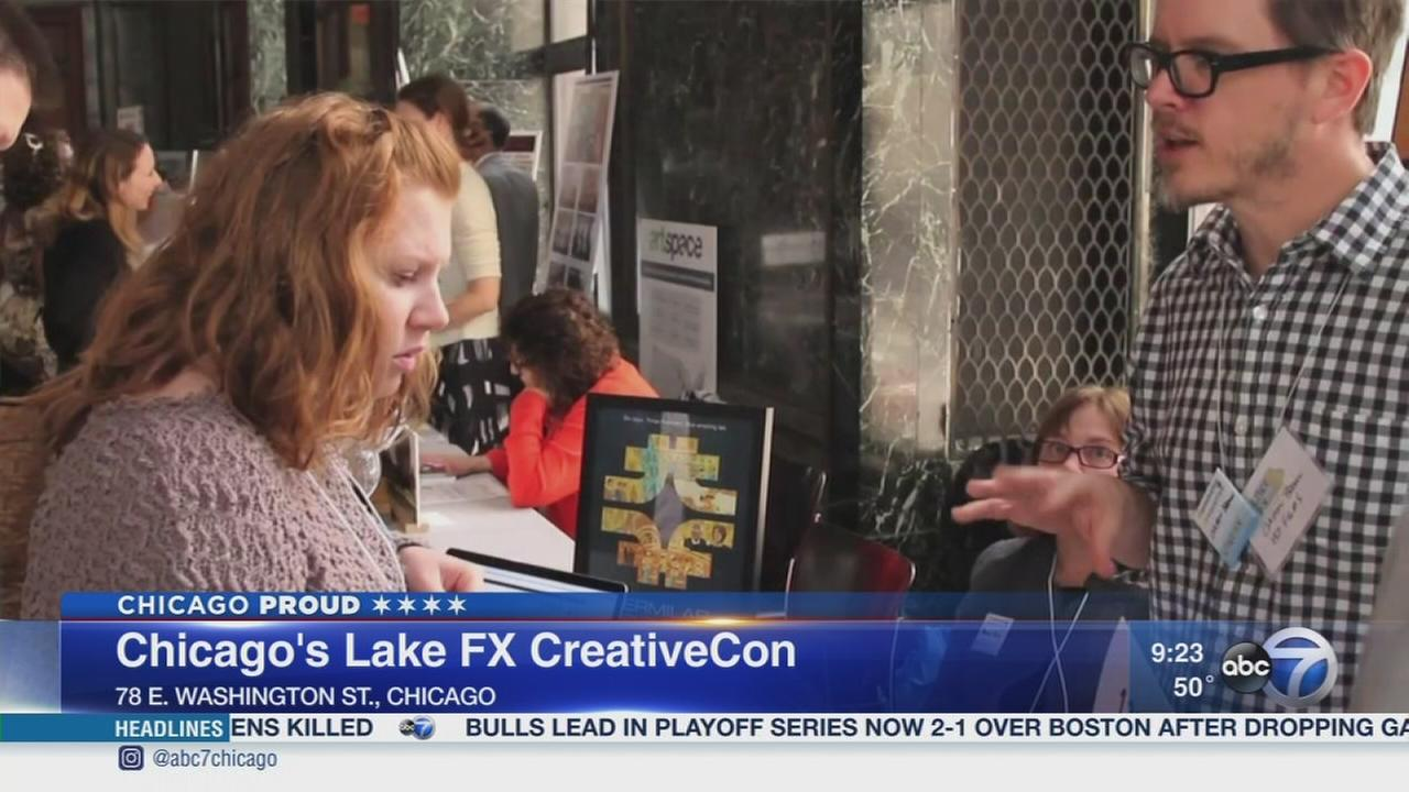 Getting creative at Chicagos Lake FX CreativeCon