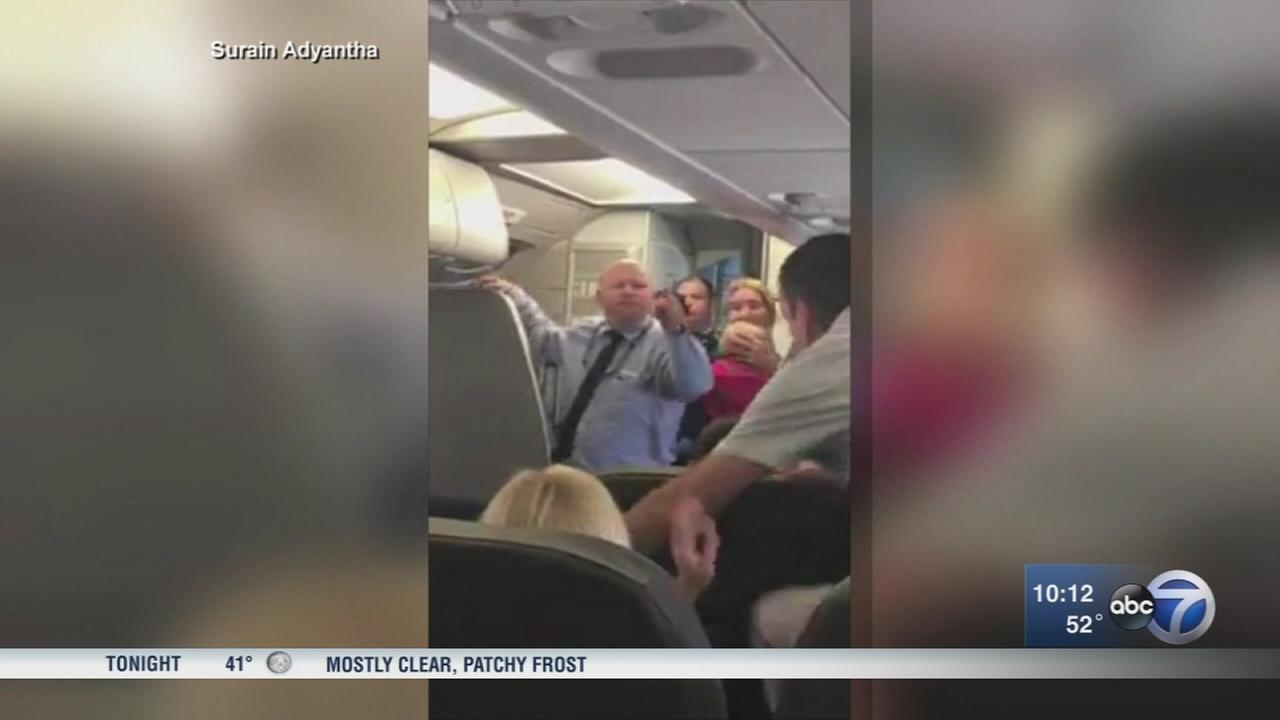 American Airlines attendant grounded after confrontation