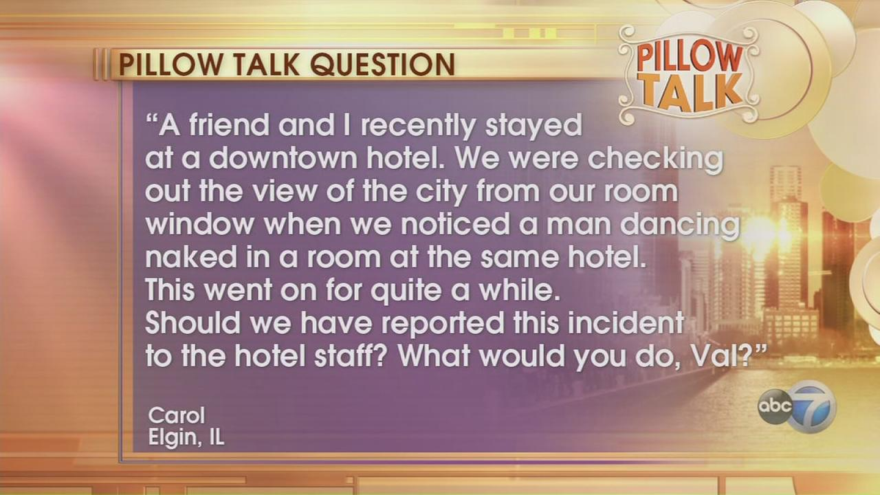 Pillow Talk: Naked man in hotel