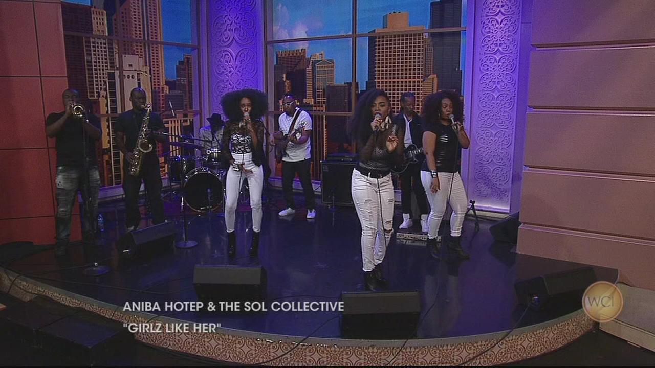 Chicago Soul Band Aniba Hotep and The Sol Collective