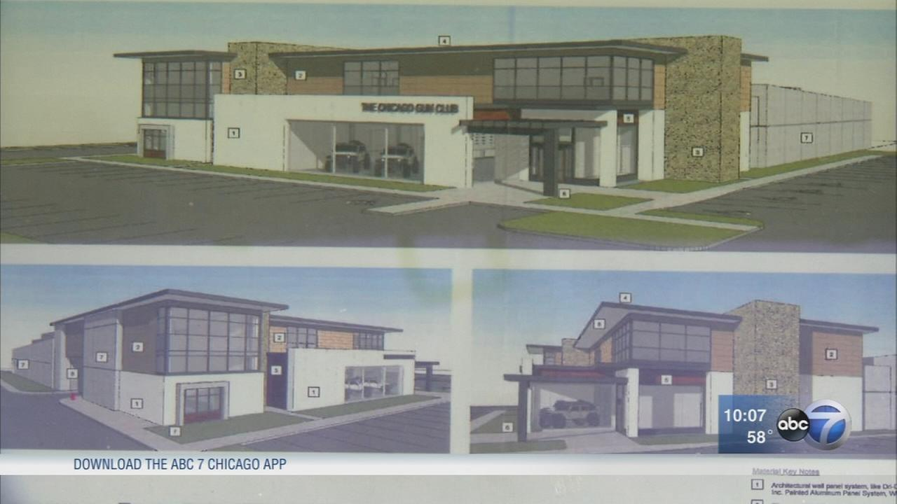 Proposed Willowbrook gun range, adjacent bar face opposition at meeting