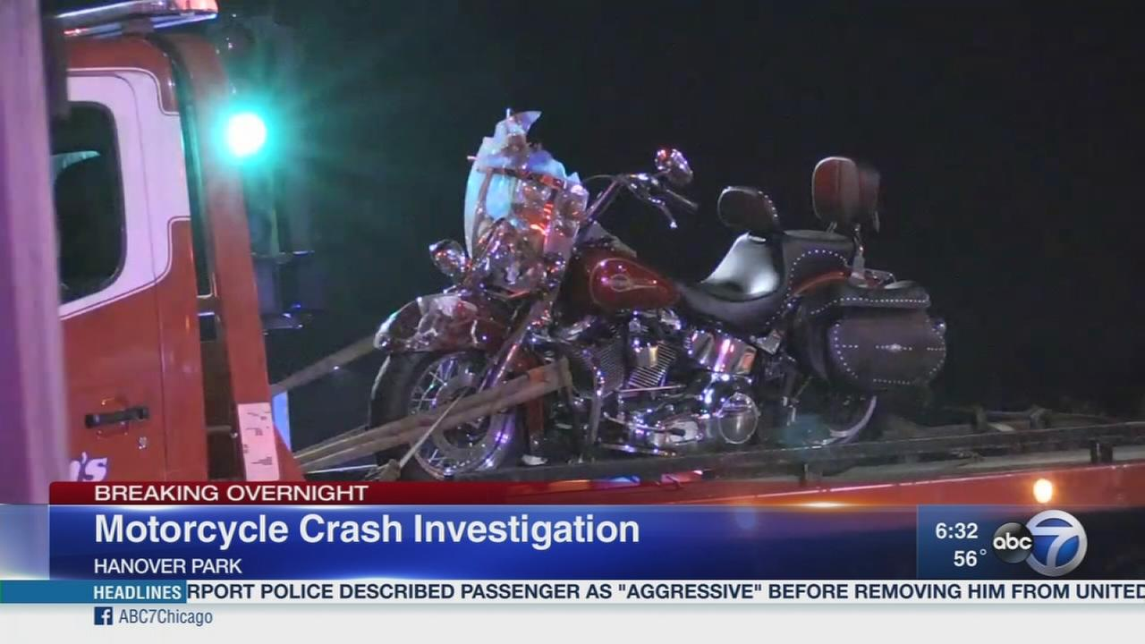 Motorcycle crashes in Hanover Park