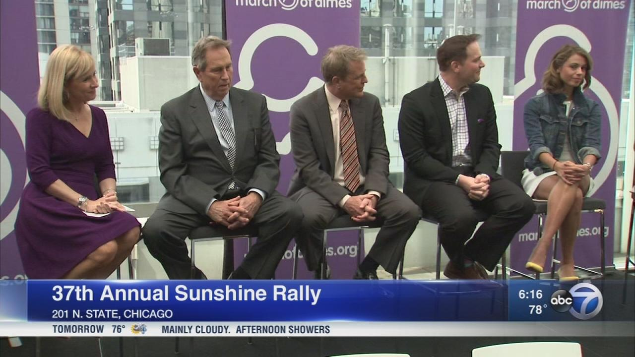 37th annual Sunshine Rally kicks off in Chicago