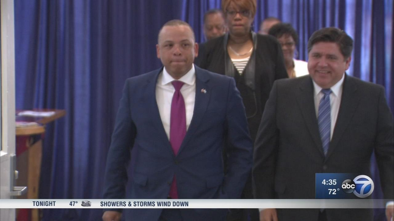Kurt Summers not running for governor, endorses J.B. Pritzker