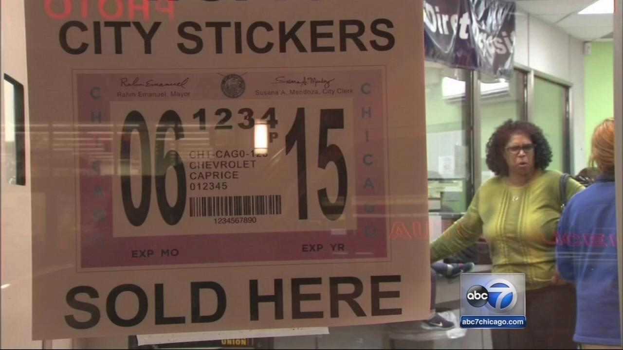 Chicago city sticker deadline extended 1 day after glitch | abc7chicago.com