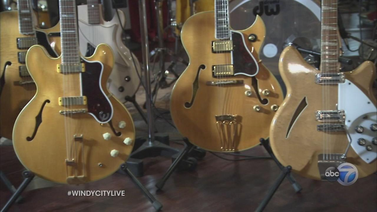 Ryan takes tour of Jim Peteriks guitar collection