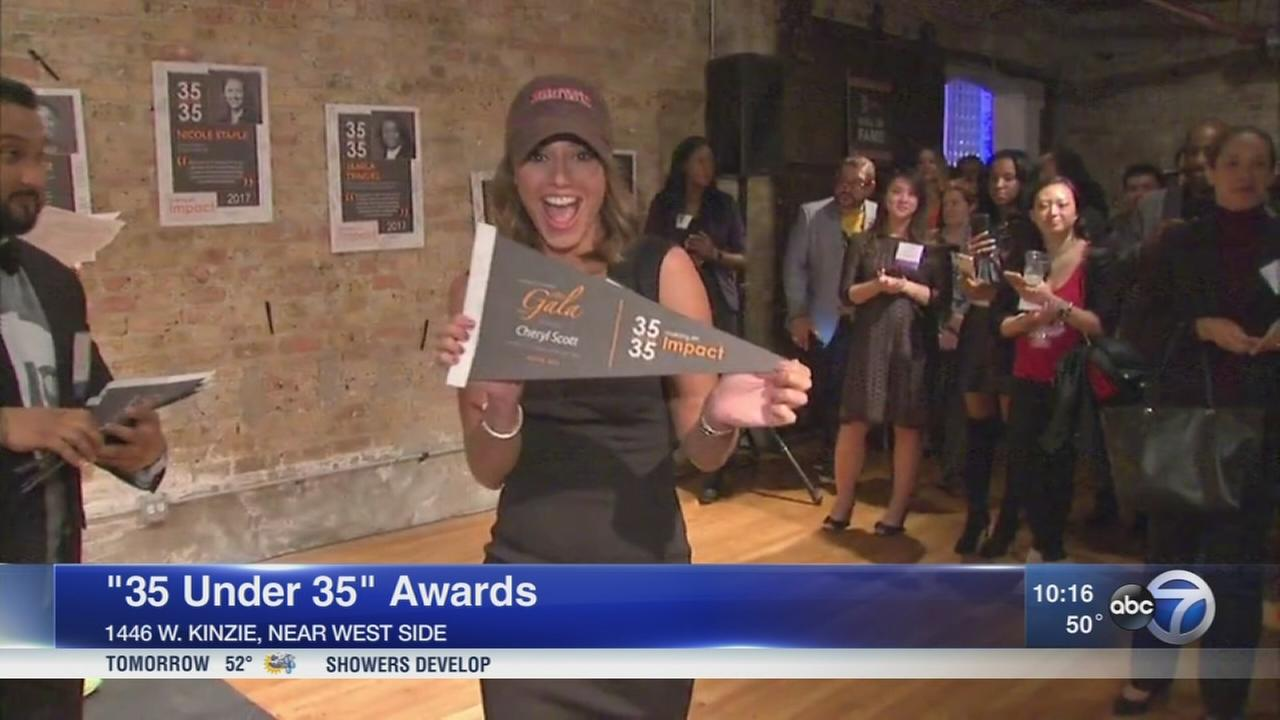 ABC7?s Cheryl Scott honored by Chicago Scholars