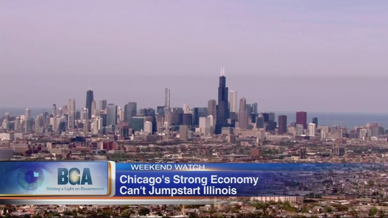 Weekend Watch: Economic disparity between Chicago area and downstate Illinois
