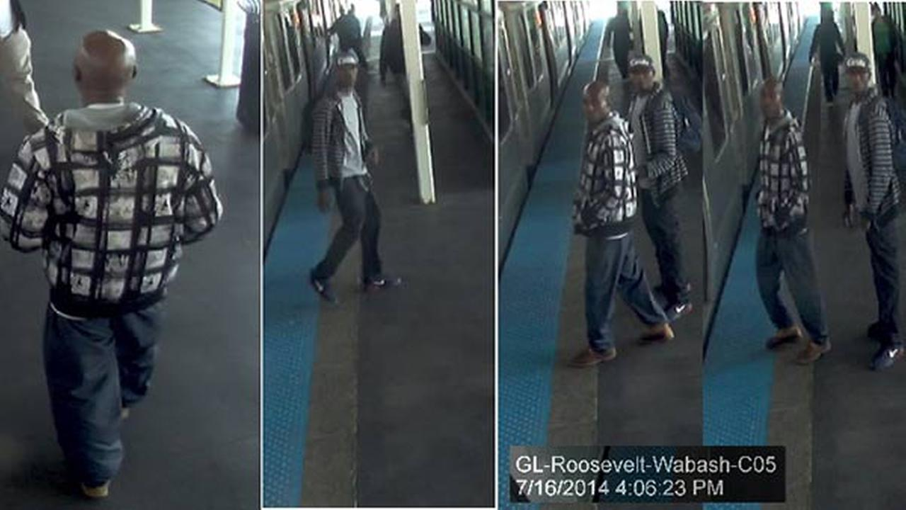 The Chicago Police Department released surveillance images of the suspects in the CTA Orange Line robberies Wednesday afternoon.