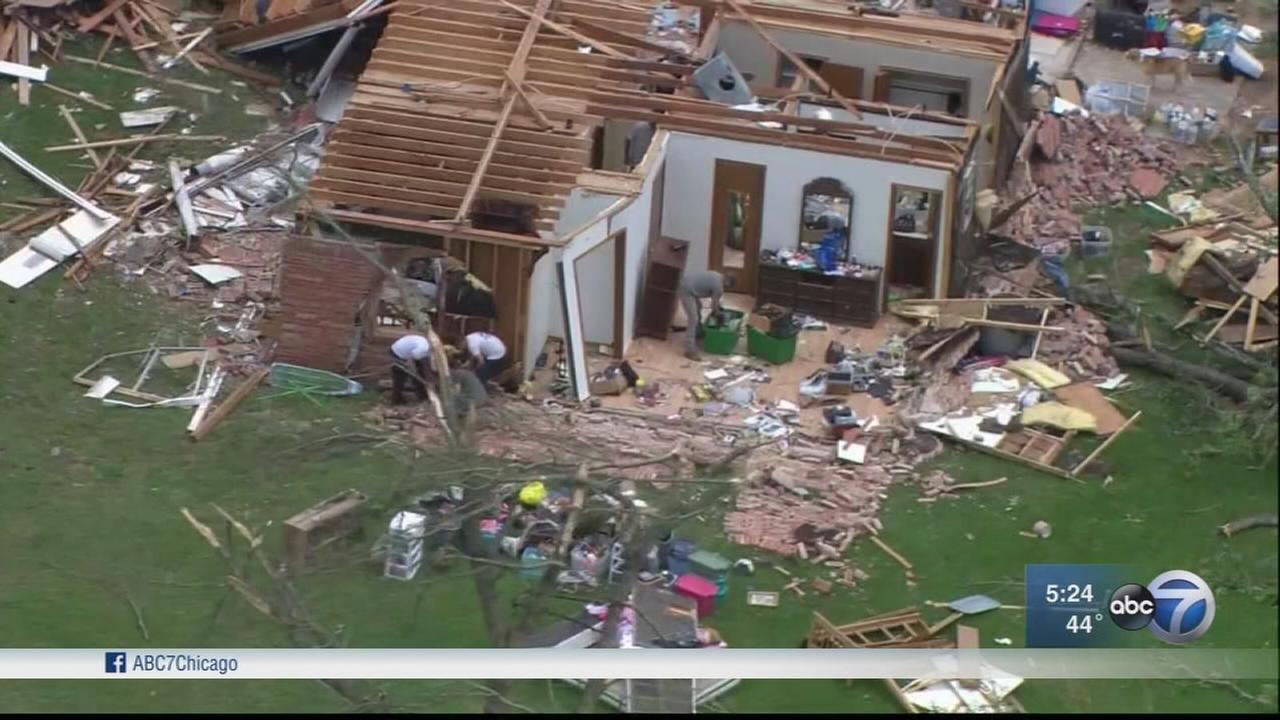 9 killed in storms in South, Midwest