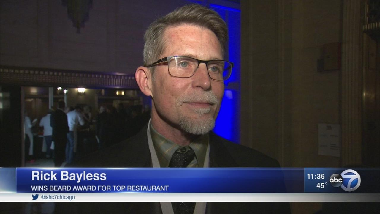Chef Rick Bayless nabs James Beard Award