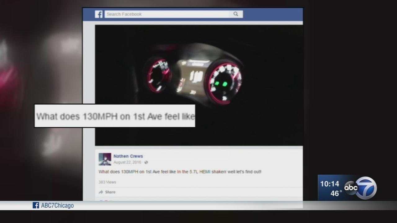 Suburban man claims to be cop, posts 130 mph driving video