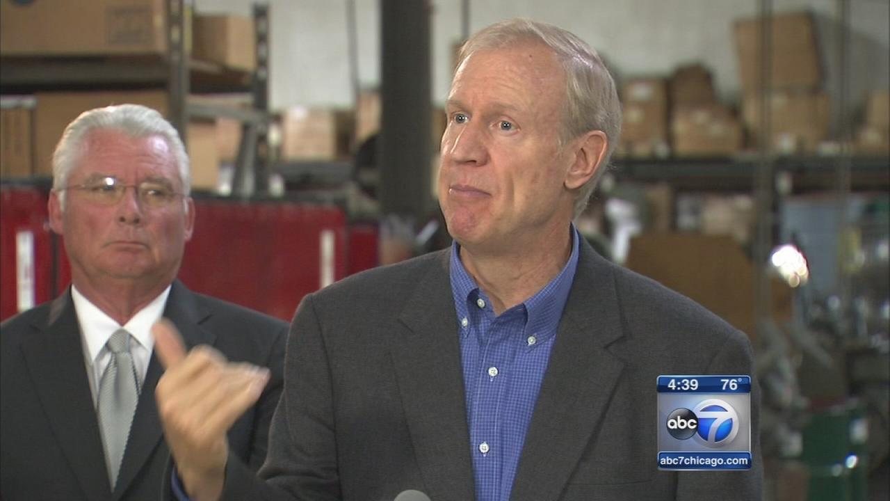 Rauner proposes tax reform plan