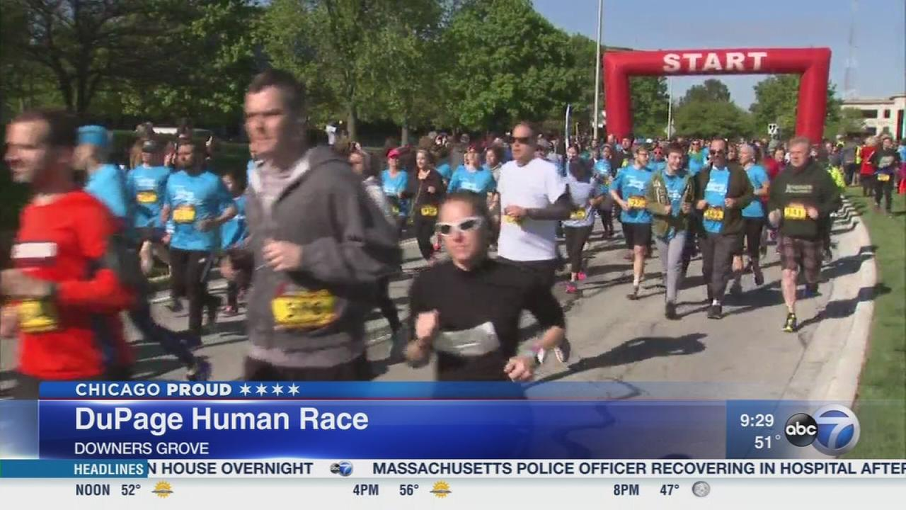 Dozens of charities benefit from DuPage Human Race