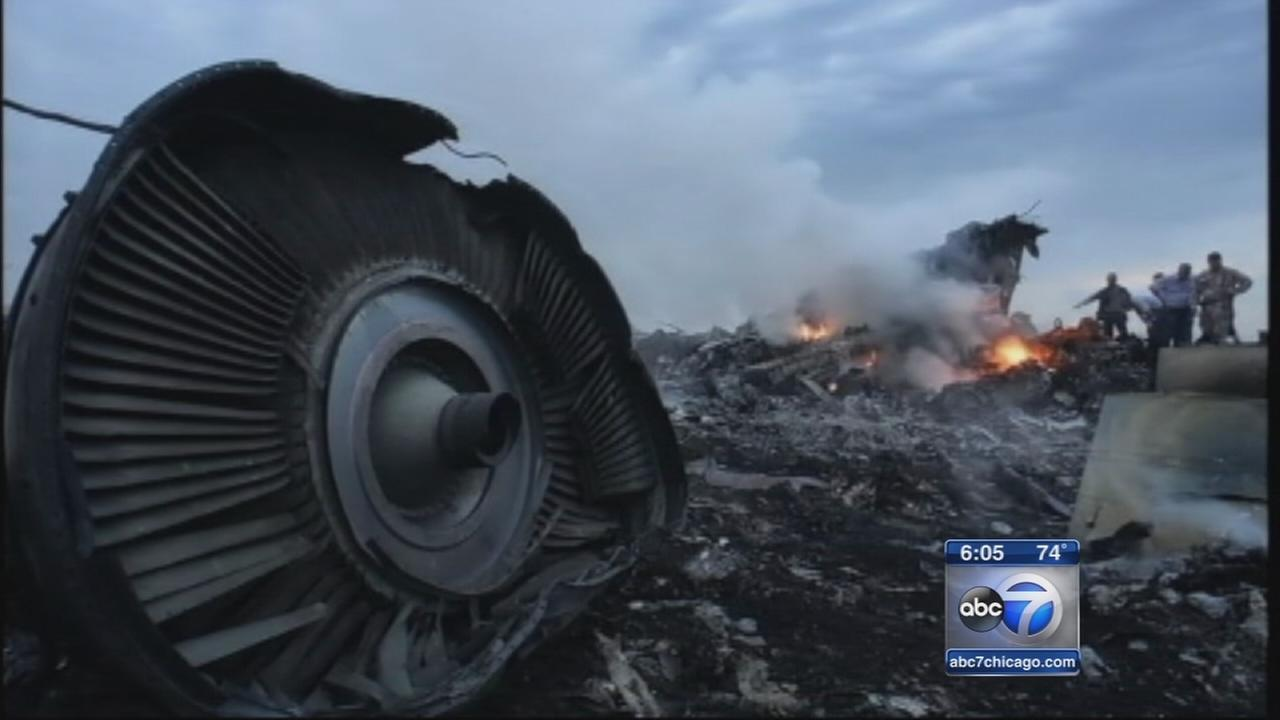 Malaysia Airlines Plane Crash Investigated Flight Mh17