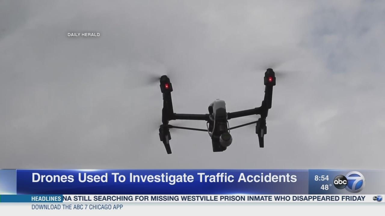 Daily Herald: Traffic investigators to use drones