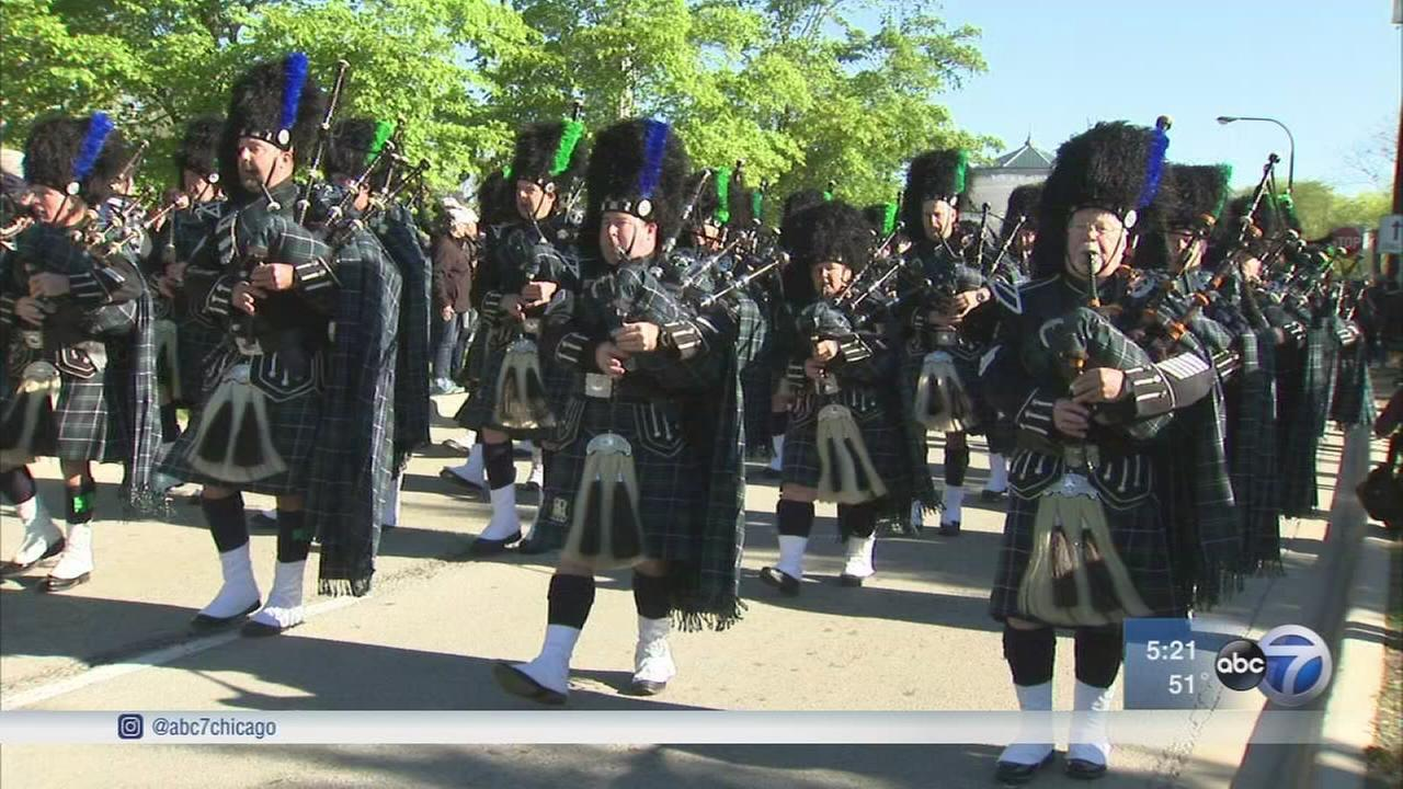 Parade remembers fallen Chicago police officers