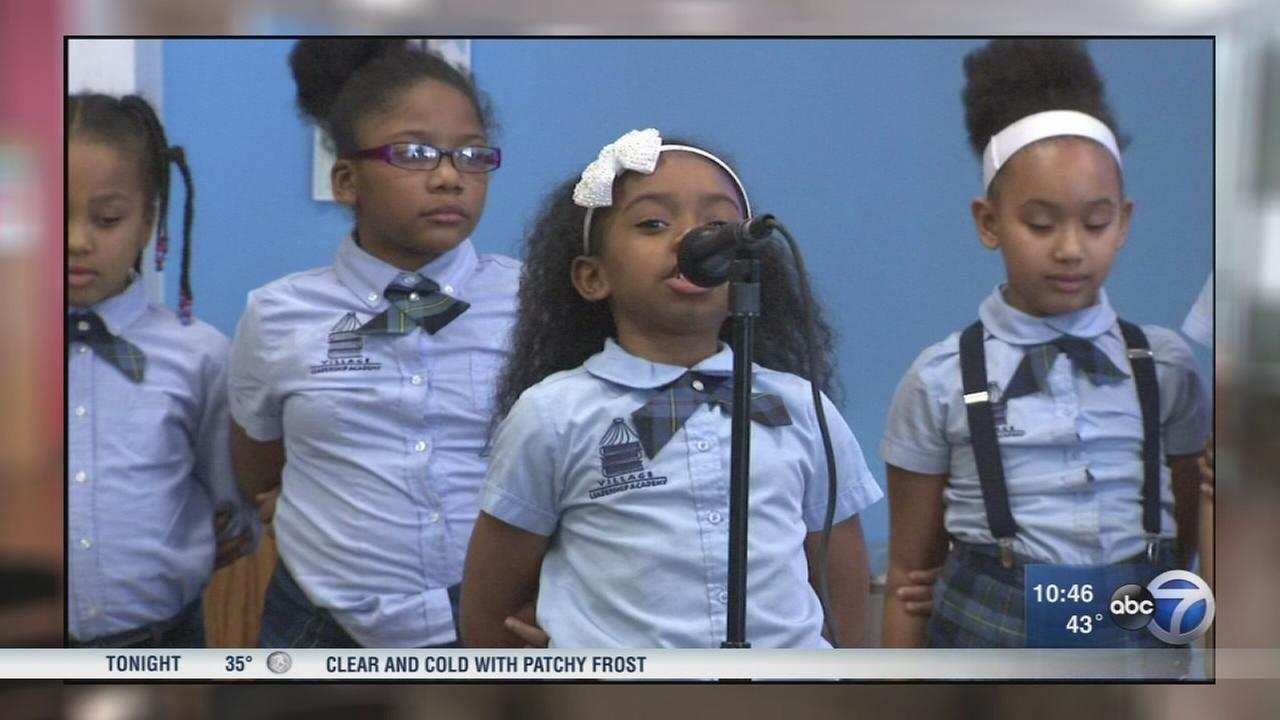 Chicago students raise awareness about water in lead