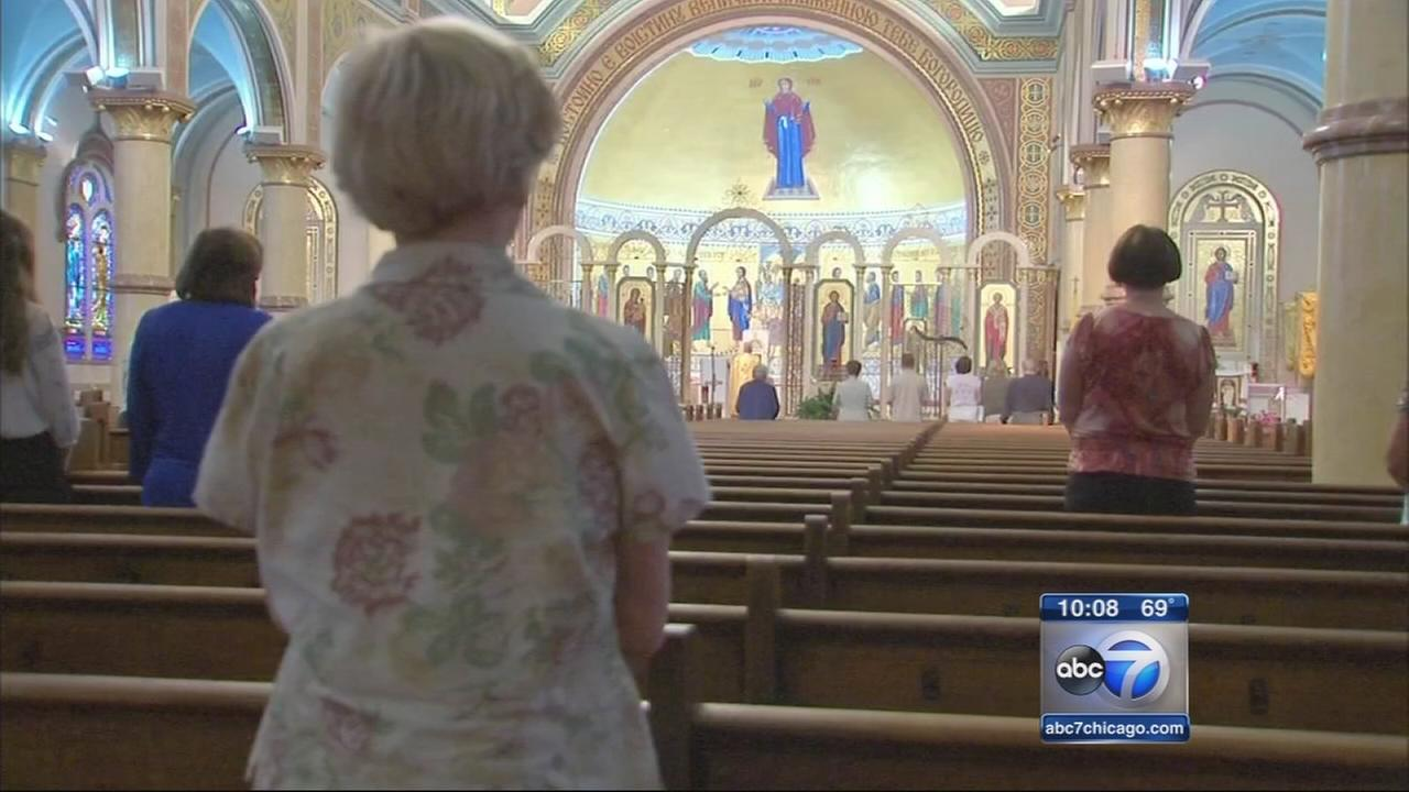 St. Nicholas dedicates service to crash victims