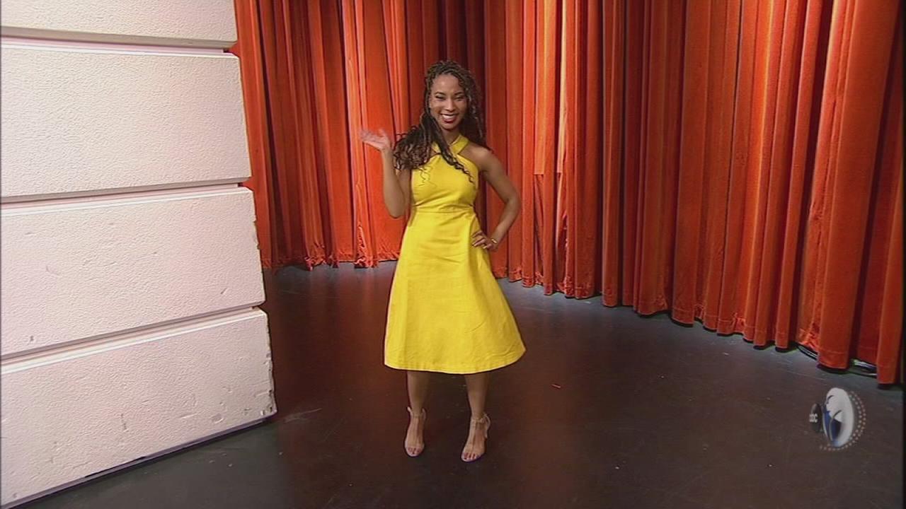 Ann Taylor dresses WCL guest co-host