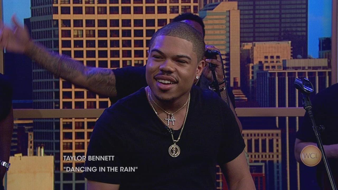 Taylor Bennett, brother of Chance the Rapper, performs