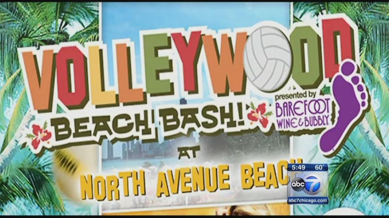 Check out the Volleywood Beach Bash this weekend