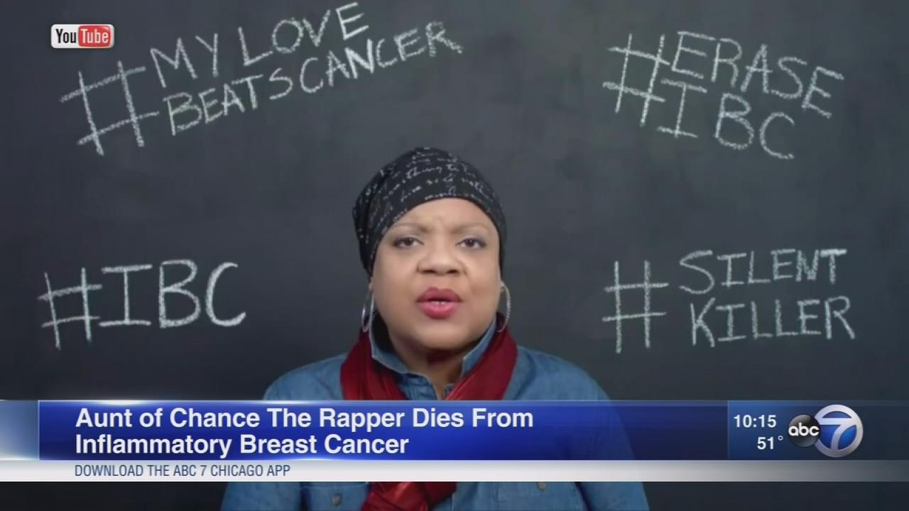 Aunt of Chance The Rapper dies of cancer