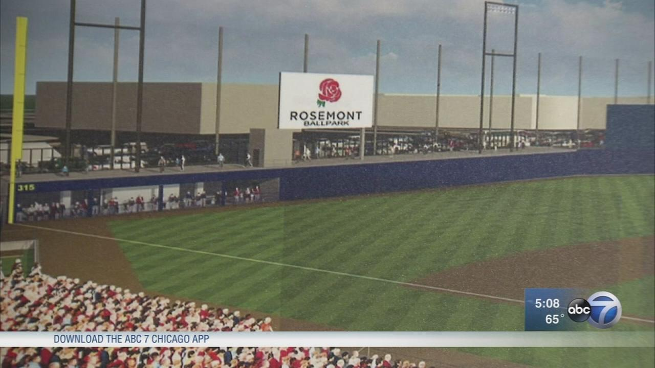 Minor league baseball team coming to Rosemont