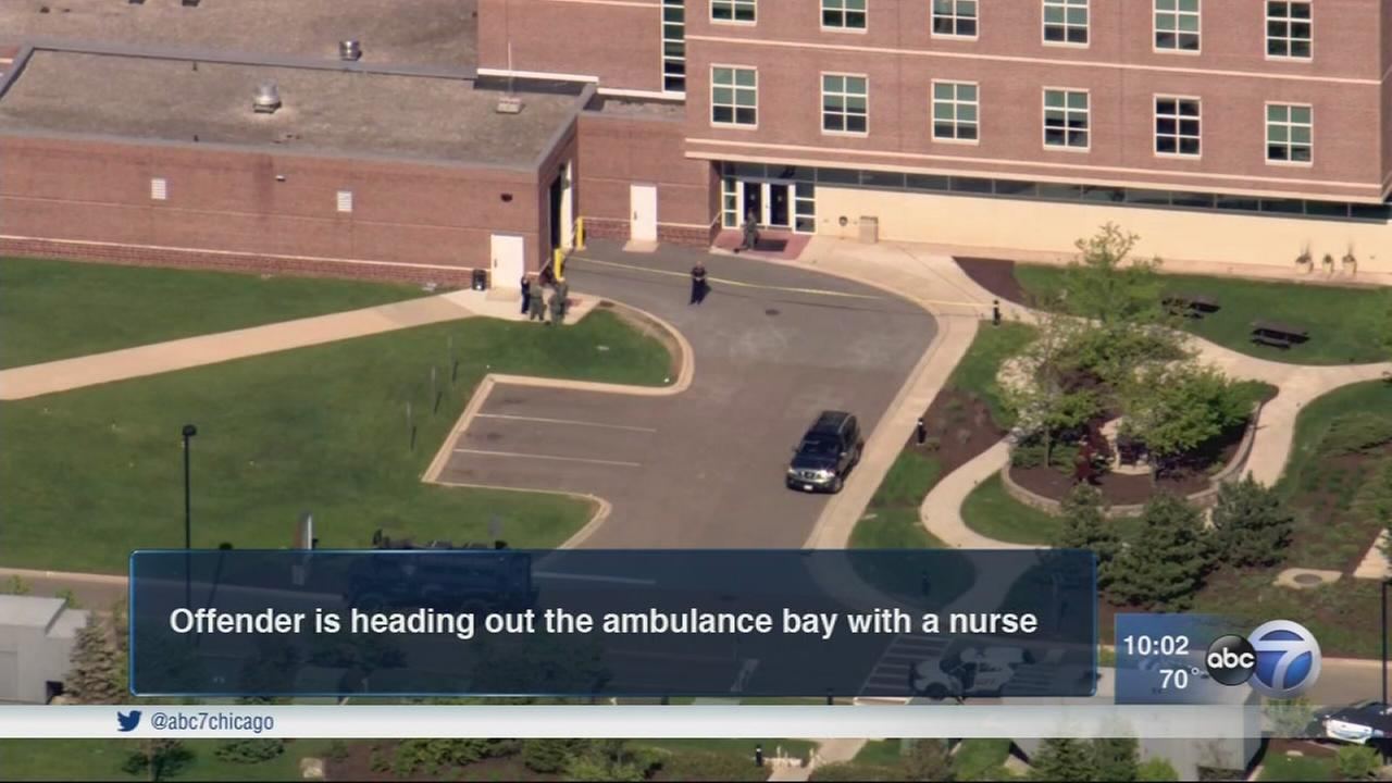 2 nurses held hostage in Geneva hospital standoff