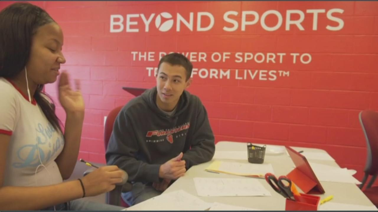 Beyond Sports Foundation supports young athletes