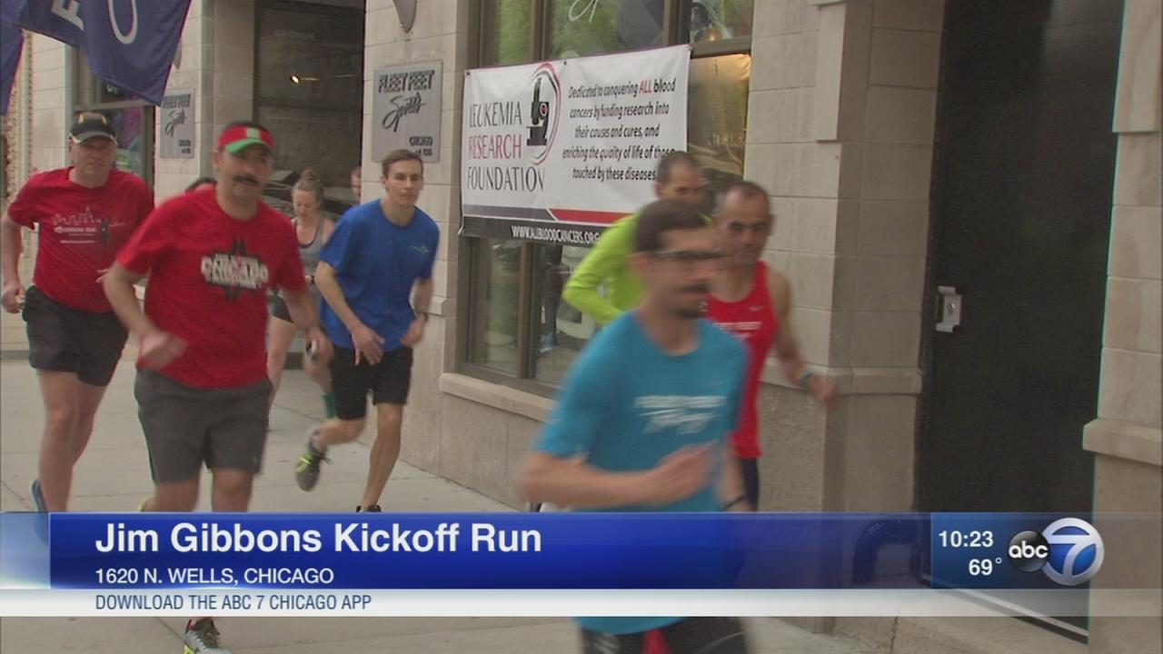 ABC7 Jim Gibbons kickoff run held Monday night