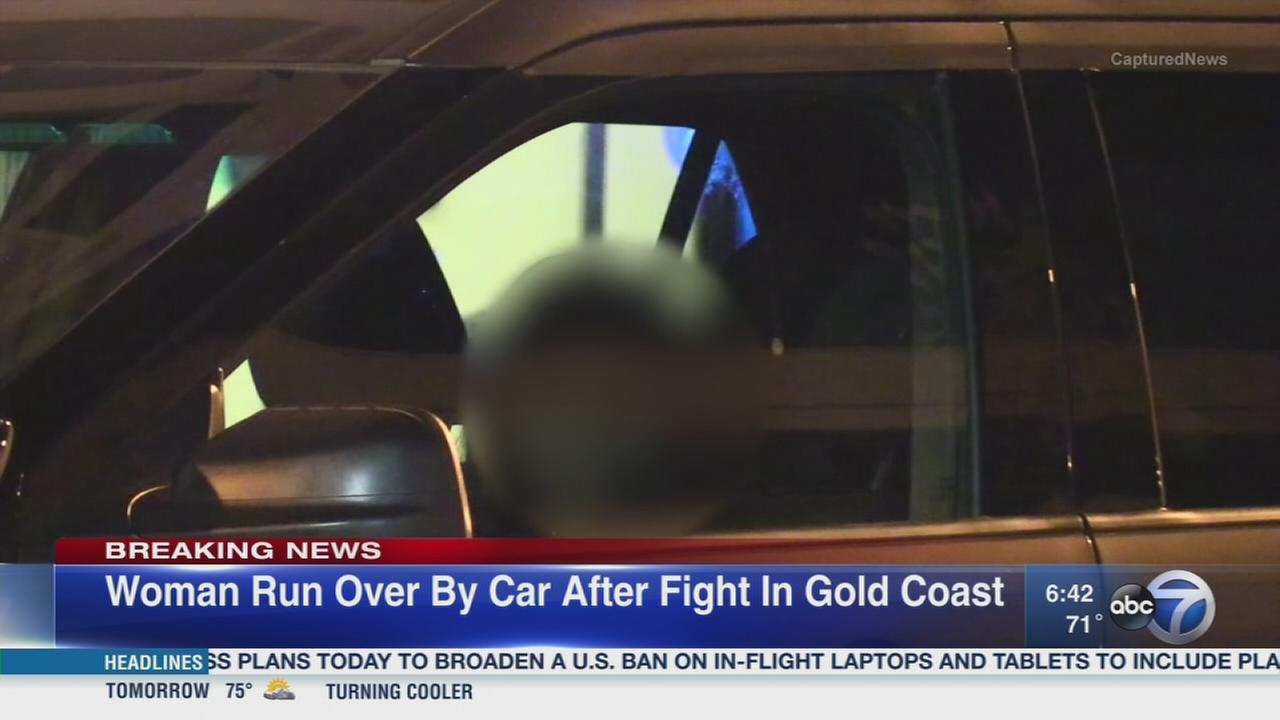 Woman struck after Gold Coast fight