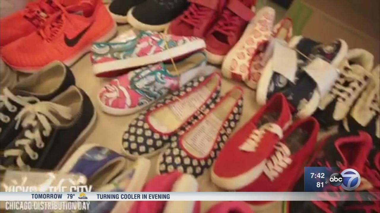 Non-profit hosts Sneakerball to help homeless get shoes