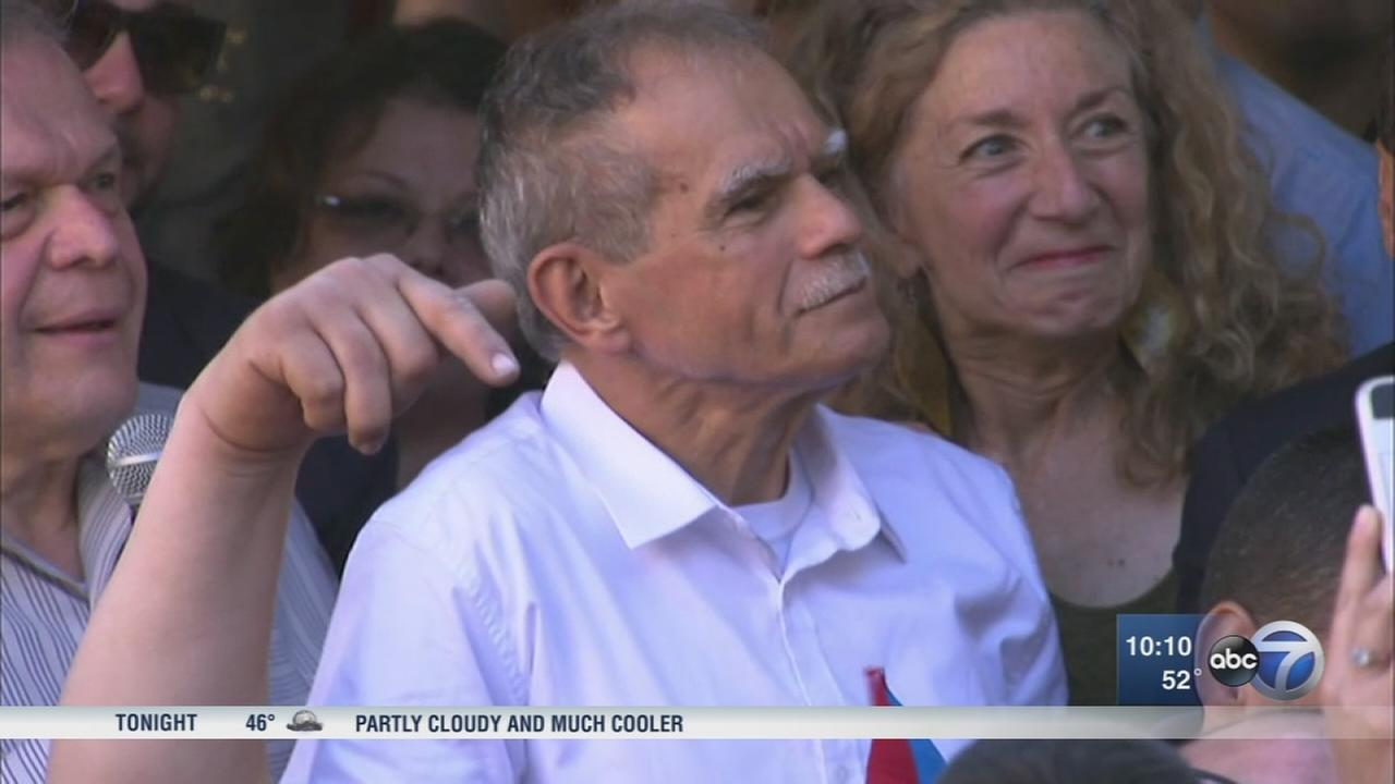 Oscar Lopez Rivera celebrated in Humboldt Park