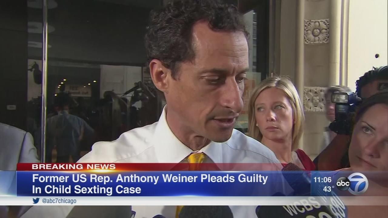 Ex US Rep. Weiner pleads guilty in sexting case