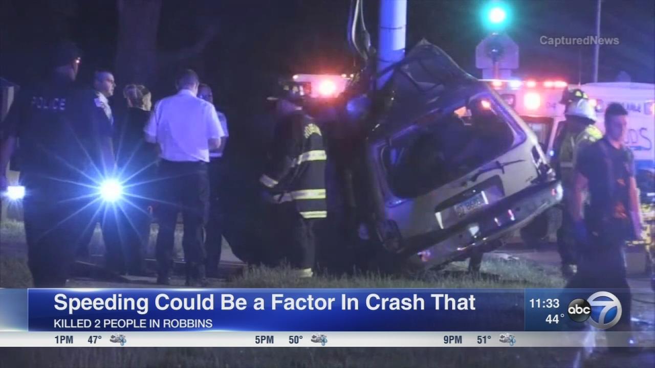2 killed in Robbins crash