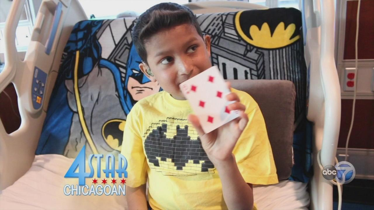 4 Star Chicagoan uses magic to help kids in hospitals