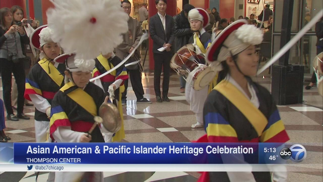 Asian American and Pacific Islander Heritage celebration held at Thompson Center