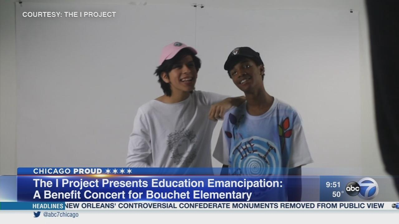 Chicago teen creates ?The I Project?