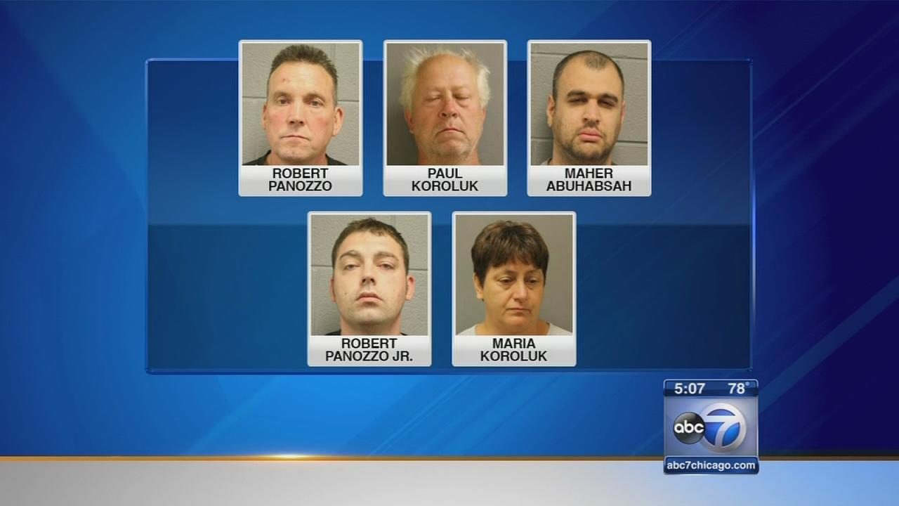 5 charged in Cook County racketeering investigation