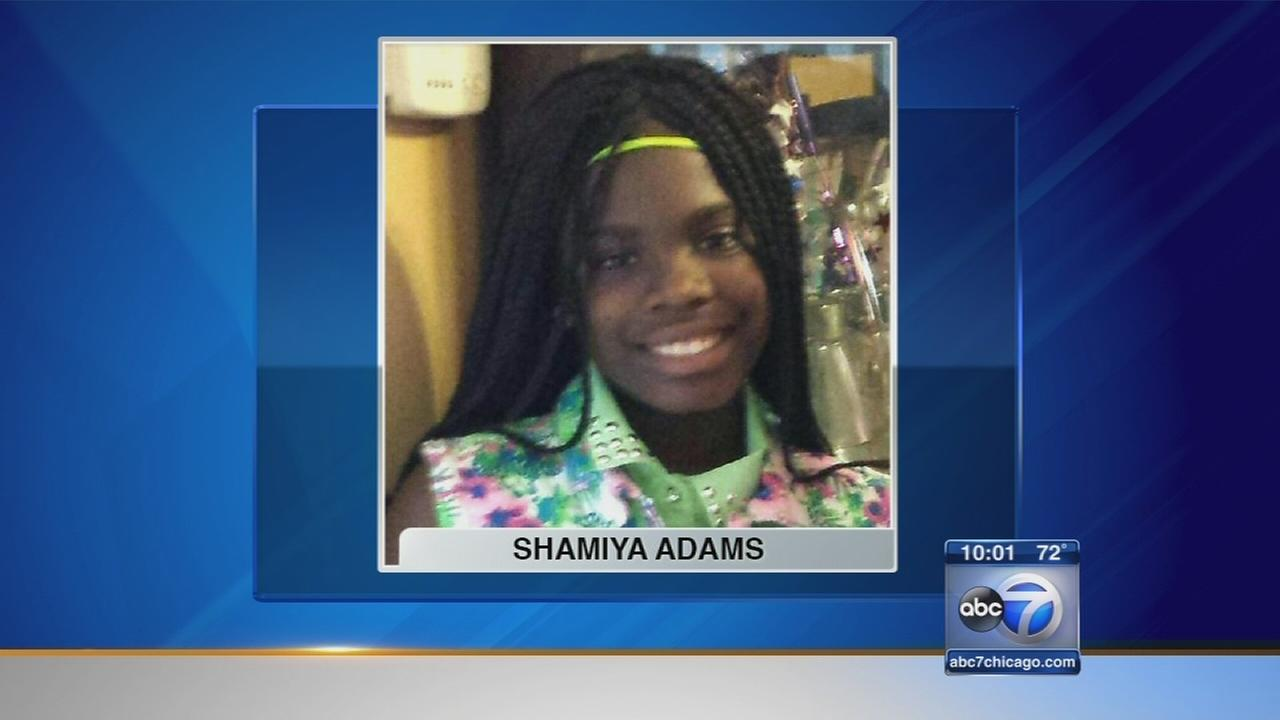 Vigil held for Shamiya Adams, 11-year-old fatally shot
