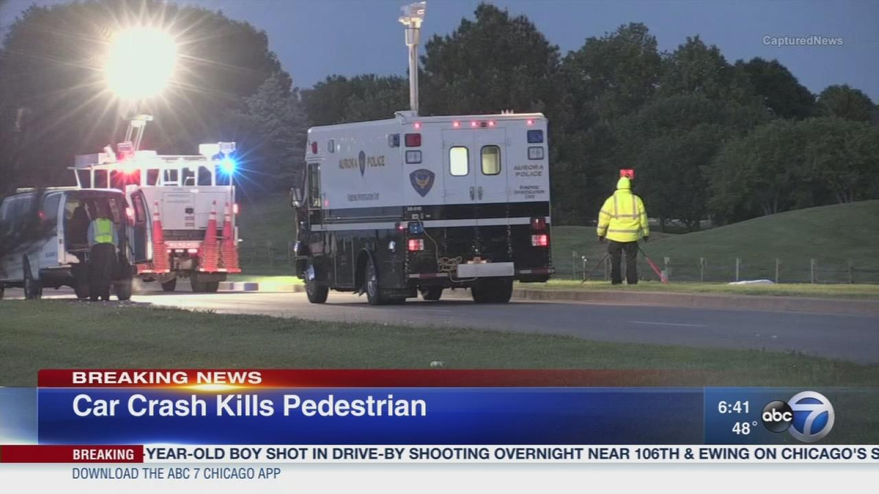 Pedestrian killed in Aurora crash