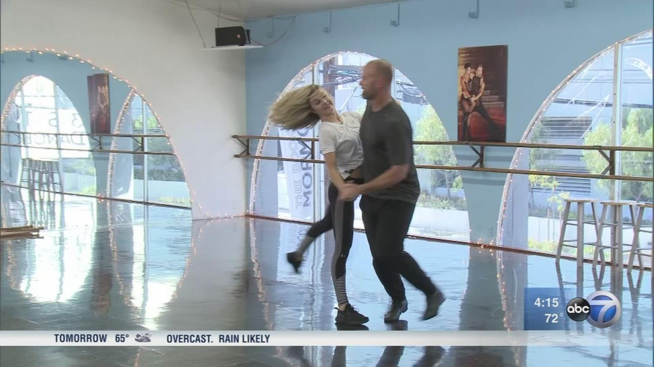 David Ross preparing for DWTS finale
