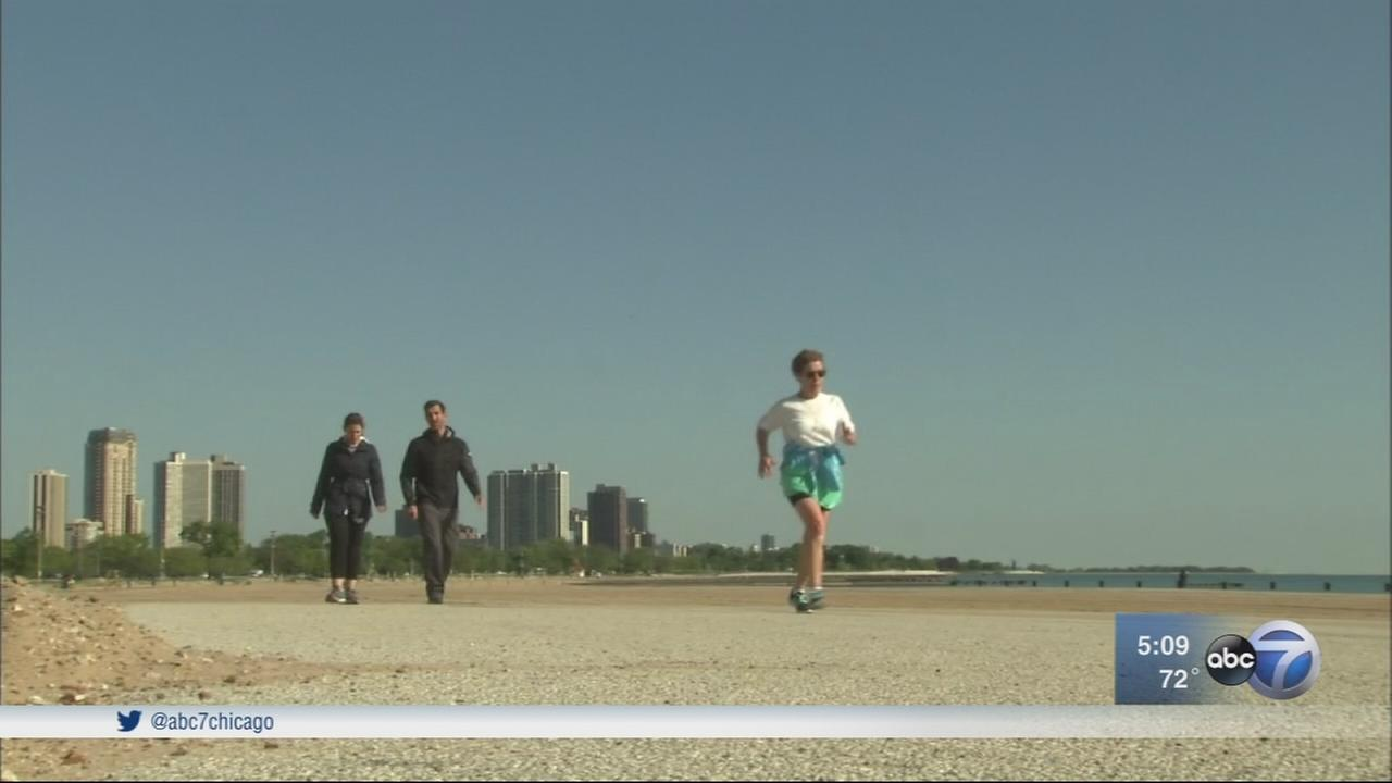 Part of Lakefront Trail closed as work begins to create separate paths