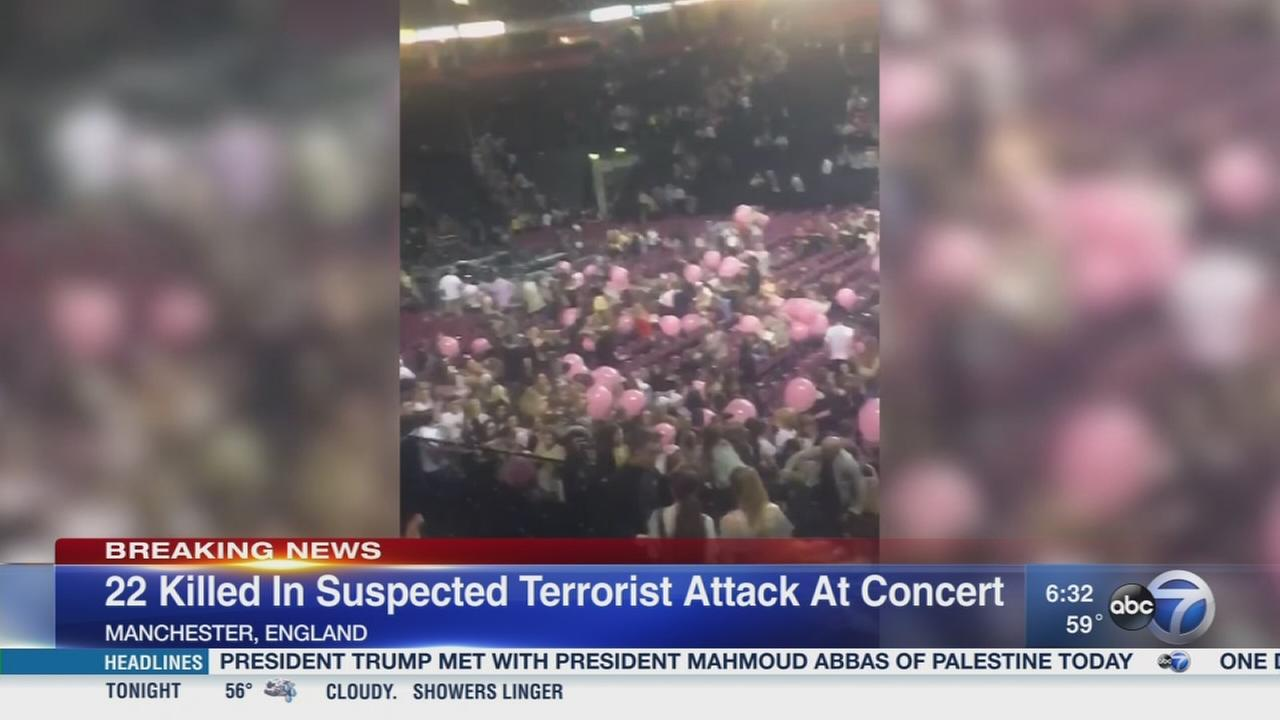 UK police arrest man in concert attack