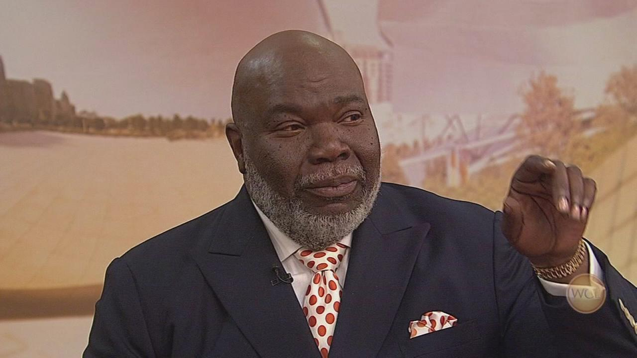 Bishop T.D. Jakes talks about MegaFest 2017
