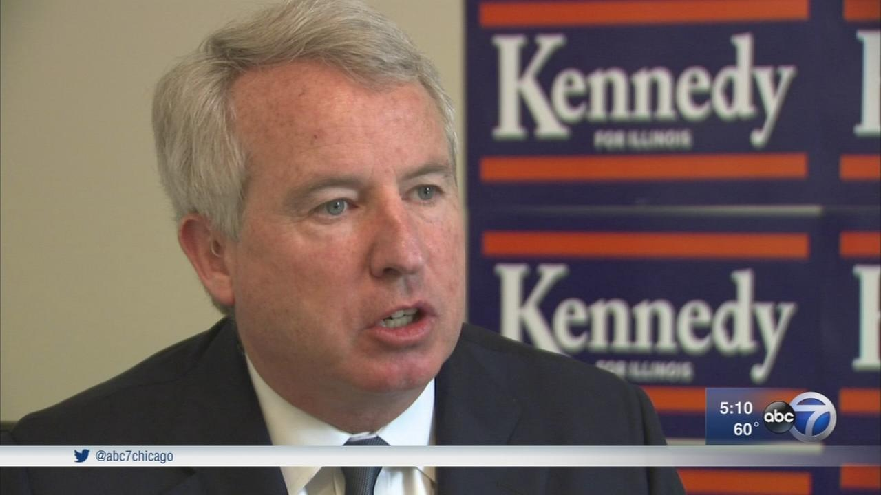 Chris Kennedy still in race for Illinios governor
