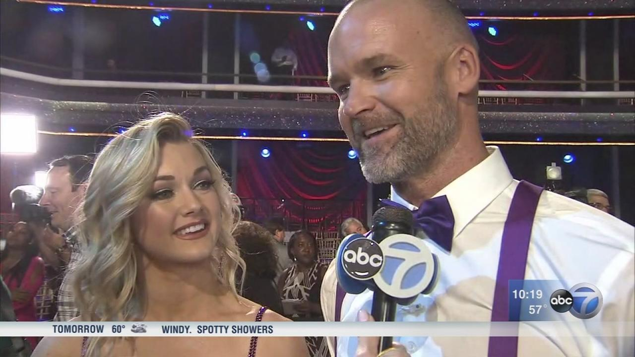David Ross takes 2nd place in Dancing with the Stars